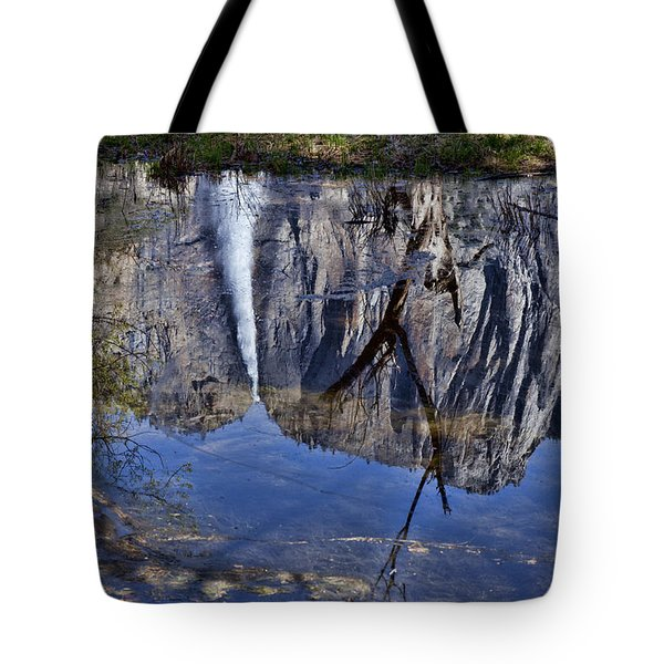 Falls Pool Reflection Tote Bag by Garry Gay