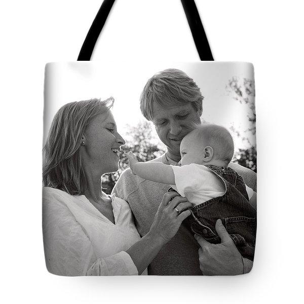 Family Portrait Tote Bag by Michelle Quance