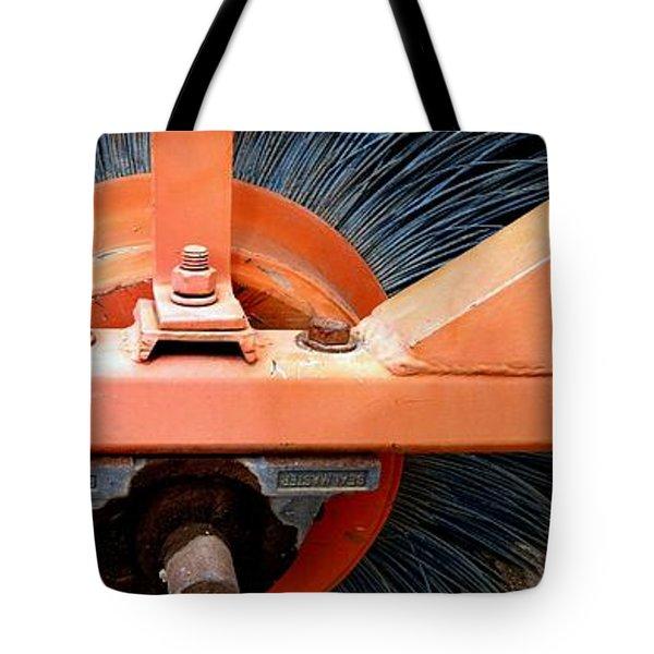 FANCY BRUSHWORK Tote Bag by Marlene Burns