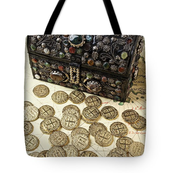 Fancy Treasure Chest  Tote Bag by Garry Gay