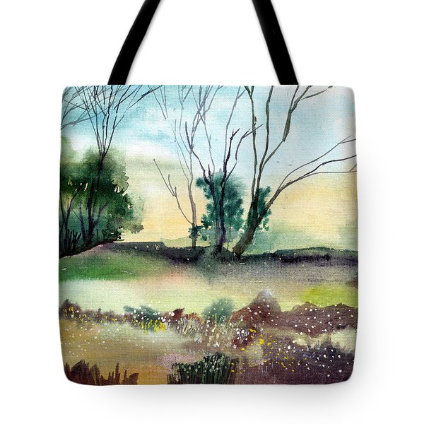 Far Beyond Tote Bag by Anil Nene