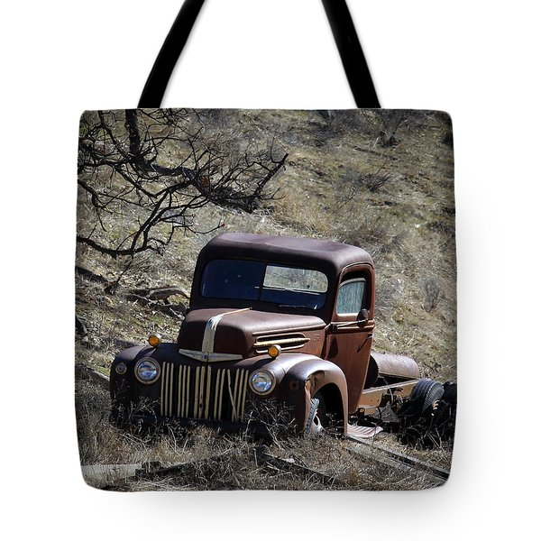 Farm Fresh Ford Tote Bag by Steve McKinzie