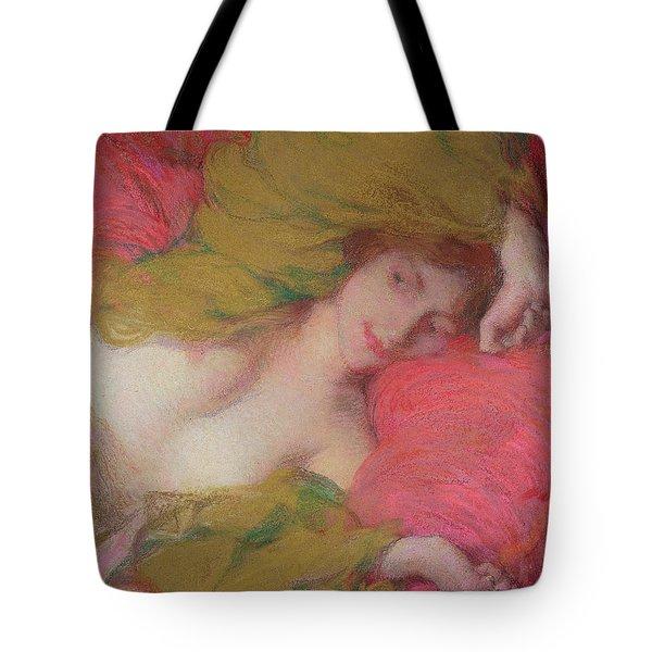Farniente Tote Bag by Edmond-Francois Aman-Jean