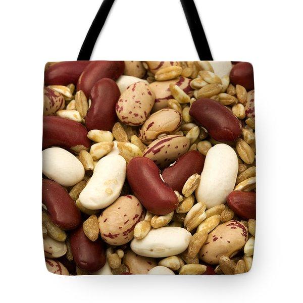 Farro And Beans Tote Bag by Fabrizio Troiani