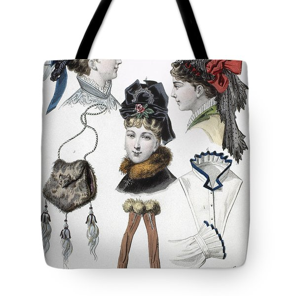 Fashion: Hats, C1875 Tote Bag by Granger