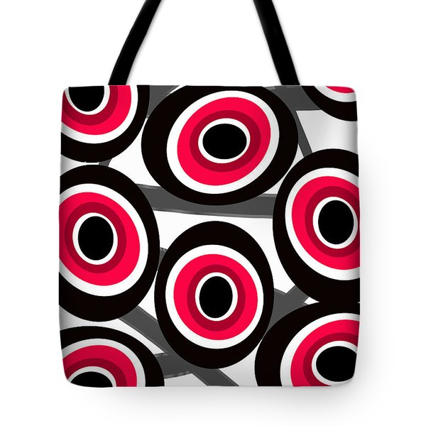 Fashion Spots  Tote Bag by Louisa Knight