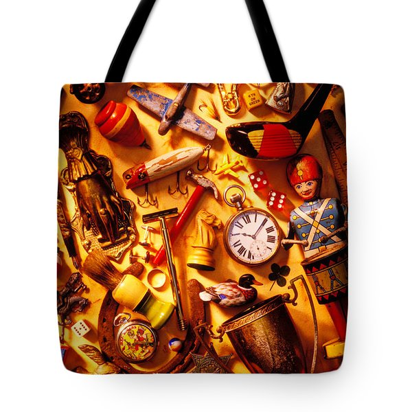 Father's day memories Tote Bag by Garry Gay