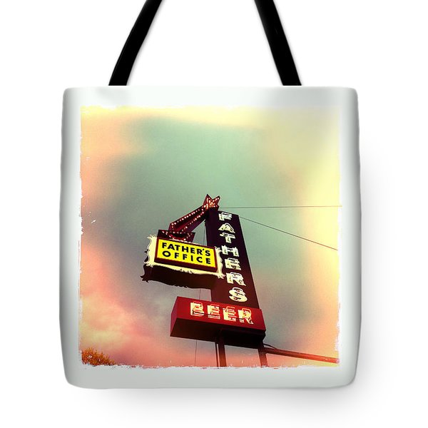 Father's Office Tote Bag by Nina Prommer