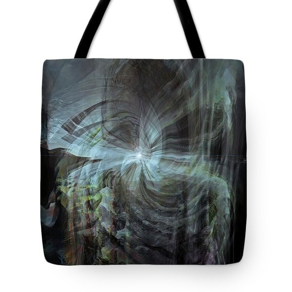 Fear Of The Unknown Tote Bag by Linda Sannuti