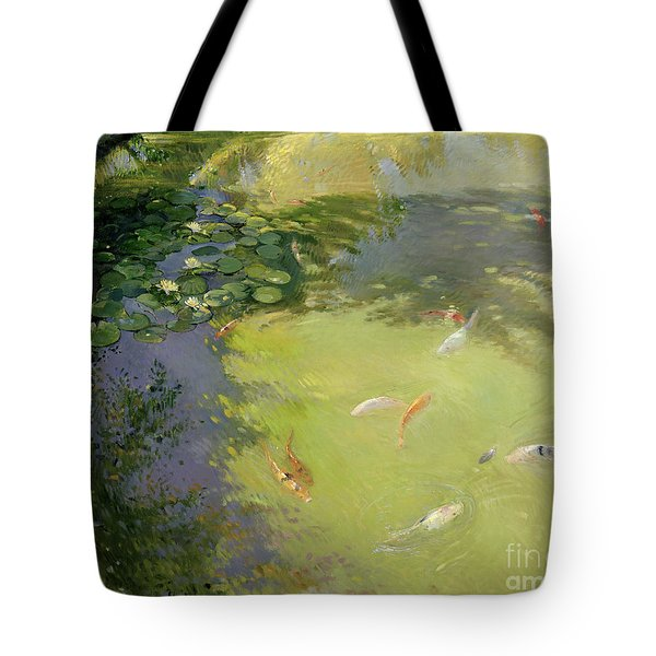 Featherplay Tote Bag by Timothy Easton