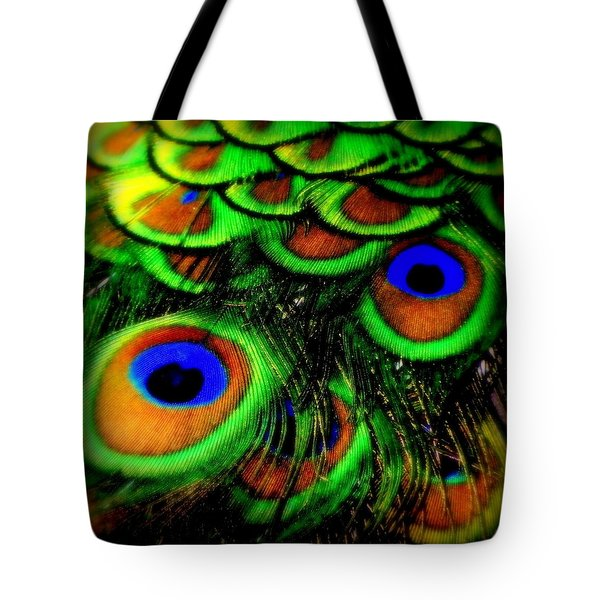 Feathers Tote Bag by Karen Wiles