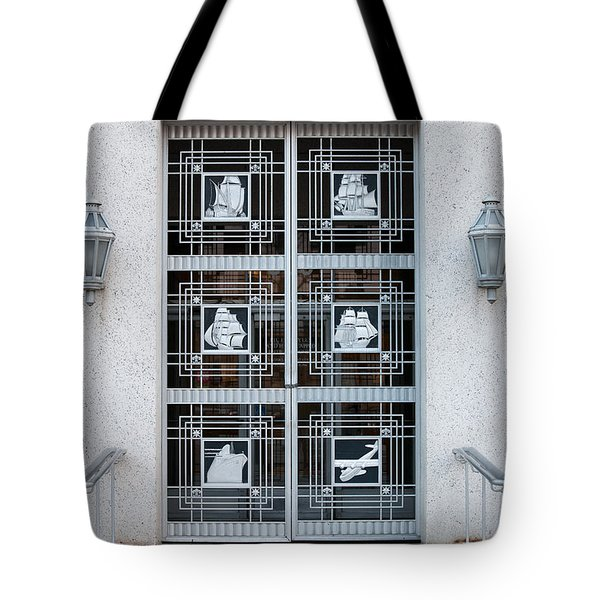Federal Trade Commission Art Deco Door Tote Bag by Clarence Holmes
