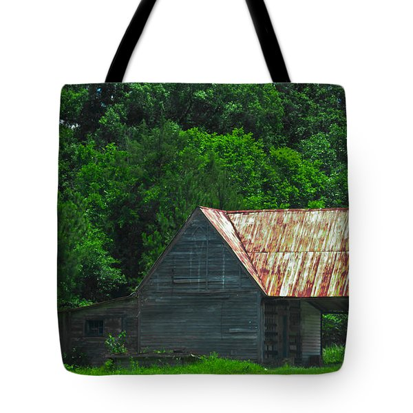 Feed Stand Tote Bag by Scott Hervieux