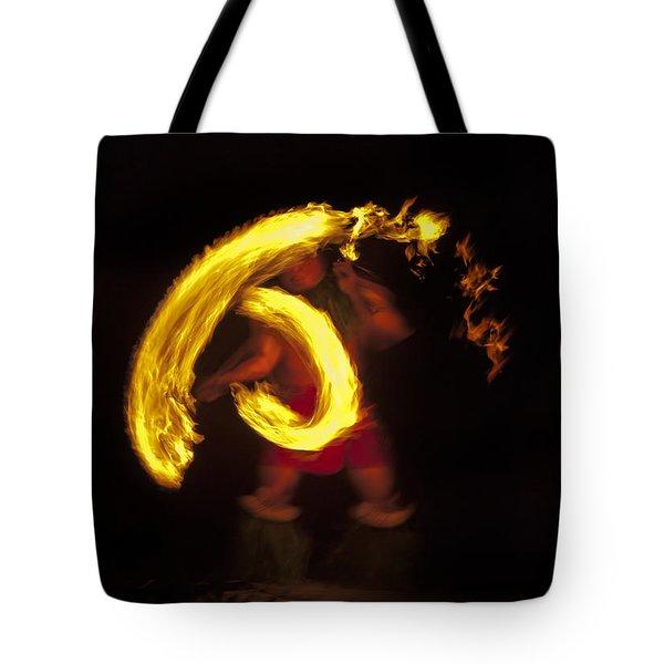 Feel the Heat Tote Bag by Mike  Dawson