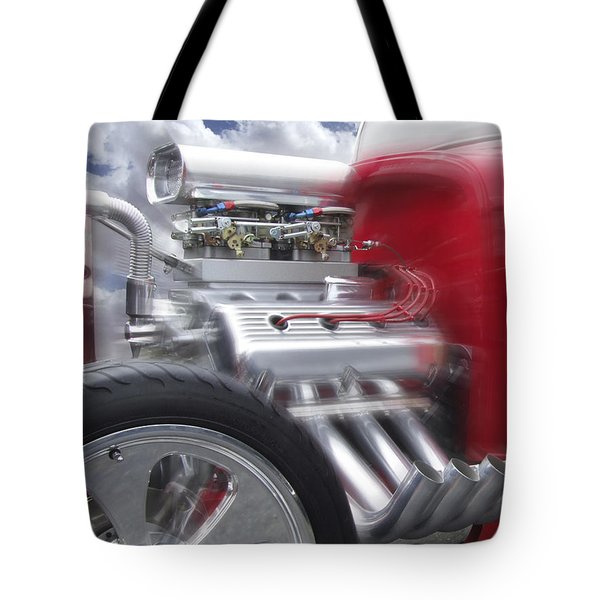 Feel The Power Tote Bag by Mike McGlothlen