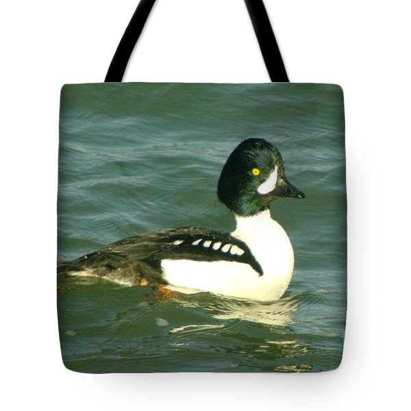 Feeling Ducky  Tote Bag by Jeff Swan