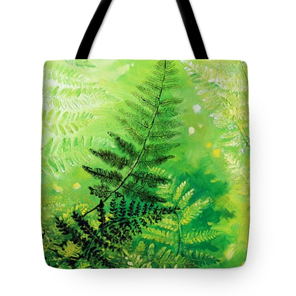 Ferns 4 Tote Bag by Hanne Lore Koehler