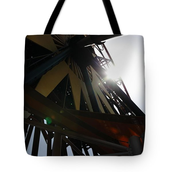Ferris Wheel - 5D17616 Tote Bag by Wingsdomain Art and Photography