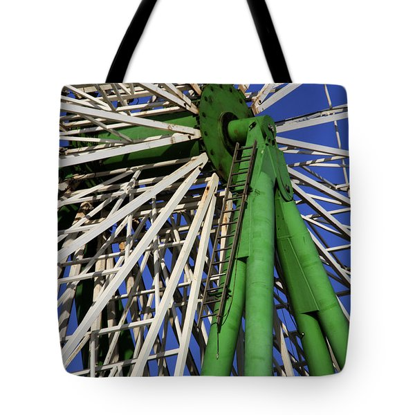 Ferris Wheel  Tote Bag by Stelios Kleanthous