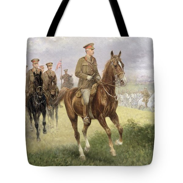 Field Marshal Haig Tote Bag by Jan van Chelminski