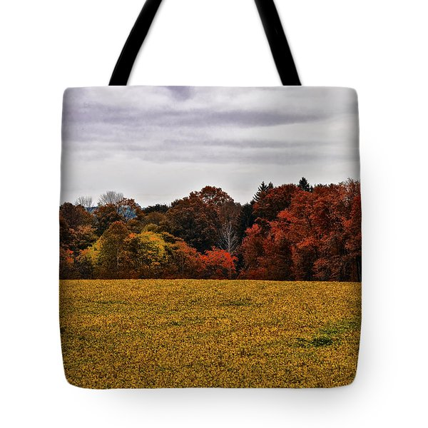 Fields Of Gold Tote Bag by Bill Cannon