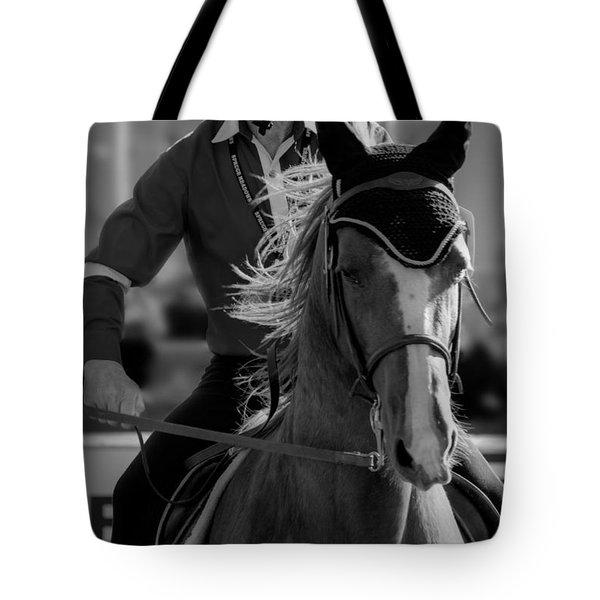 Fierce Focus Tote Bag by Lisa Knechtel