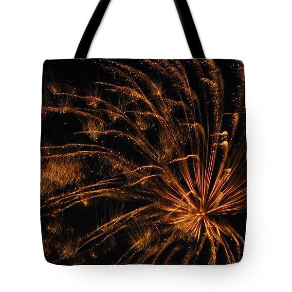 Fiery Tote Bag by Rhonda Barrett