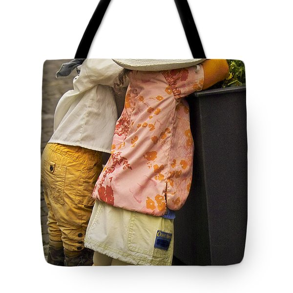 Figurines in rural dresses Tote Bag by Heiko Koehrer-Wagner