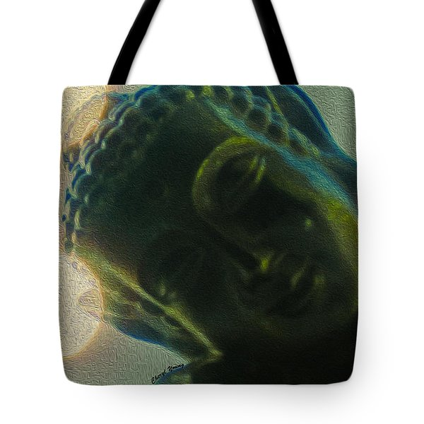 Finding Zen Tote Bag by Cheryl Young