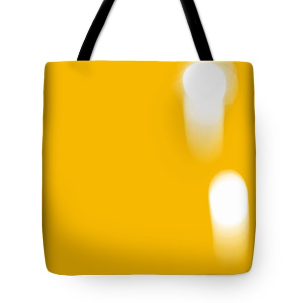 Firework Abstract ll Tote Bag by Michelle Calkins