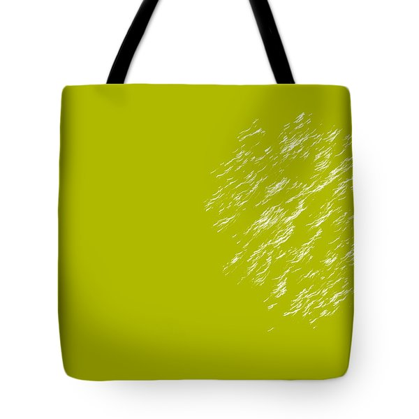 Firework Abstract Lv Tote Bag by Michelle Calkins