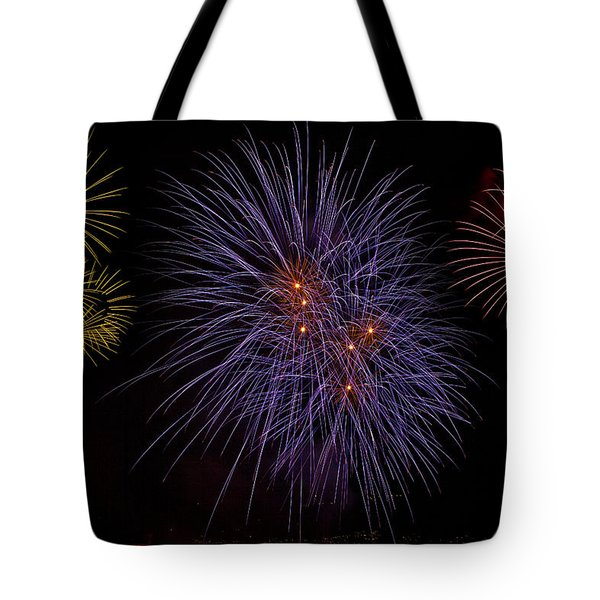 Fireworks Tote Bag by Joana Kruse