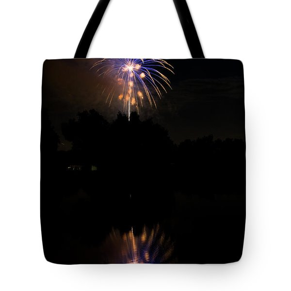 Fireworks Reflection Tote Bag by James BO  Insogna