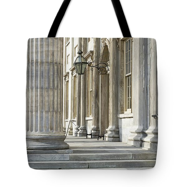 First Bank Of The United States Tote Bag by John Greim