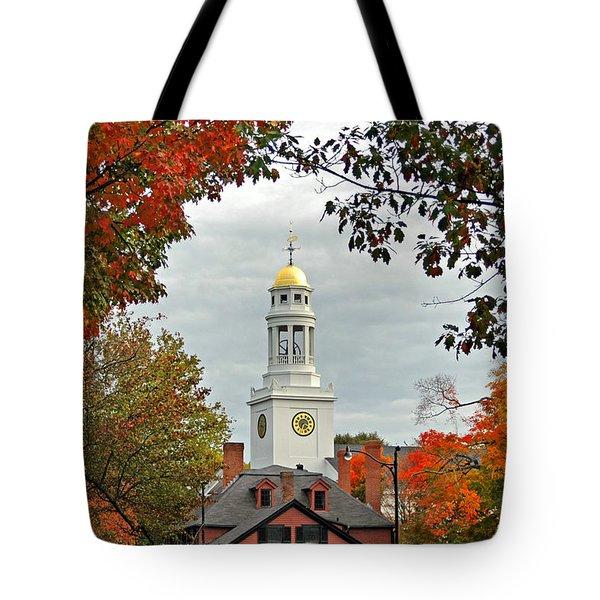 First Parish Church Tote Bag by Joann Vitali
