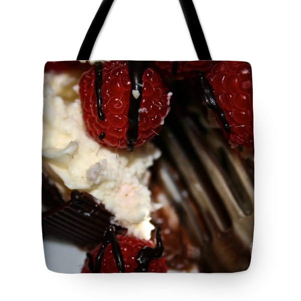 First Taste Tote Bag by Susan Herber