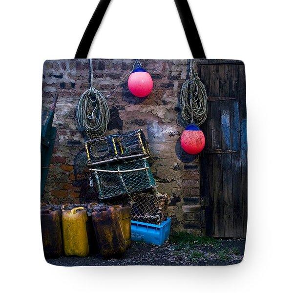Fishermans Supplies Tote Bag by John Short