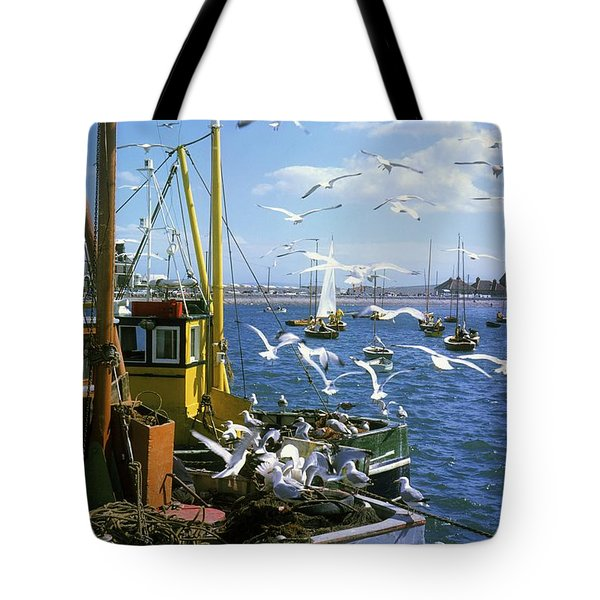 Fishing Boat Tote Bag by The Irish Image Collection