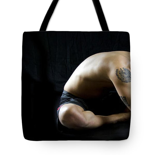 Fit to Fight 2 Tote Bag by Lisa Knechtel