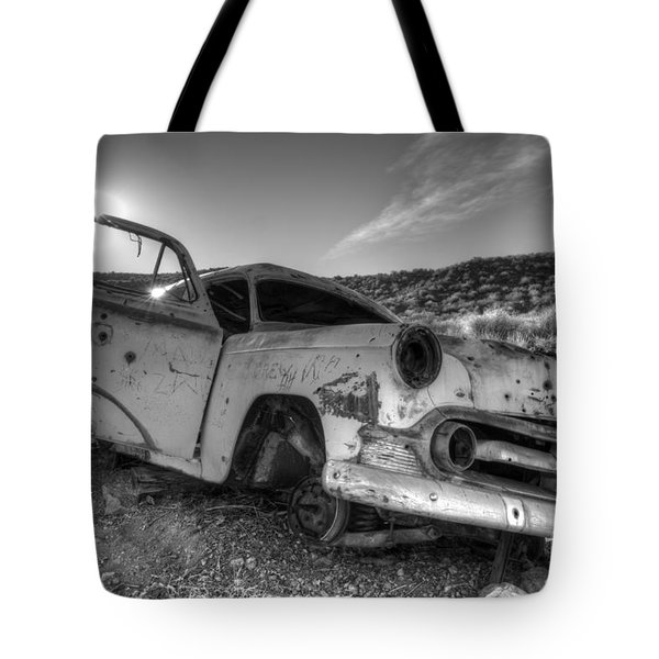 Fixer Upper Tote Bag by Bob Christopher