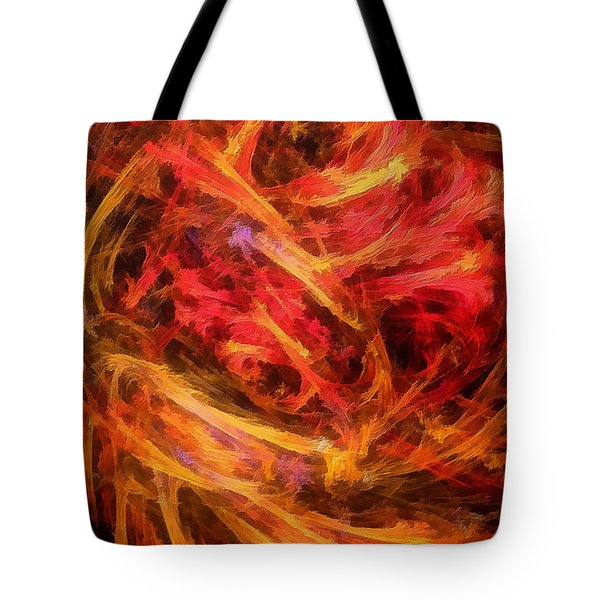 Flamboyance Tote Bag by RochVanh