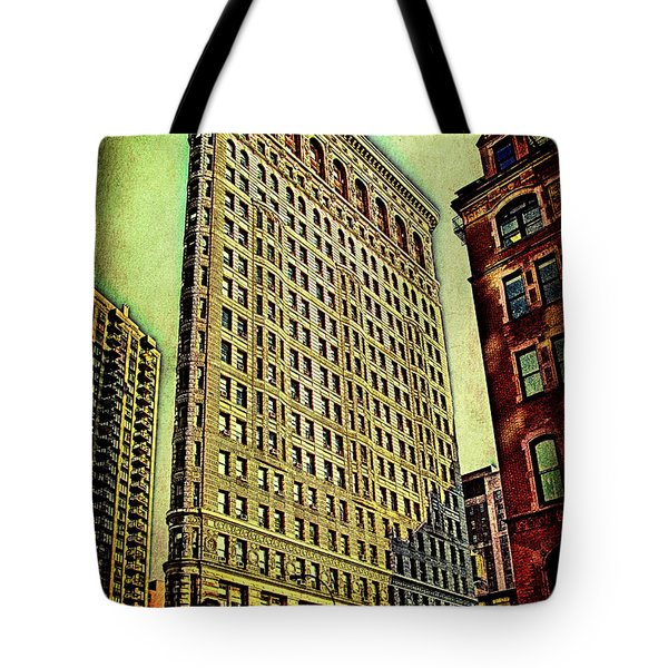 Flatiron Building Again Tote Bag by Chris Lord