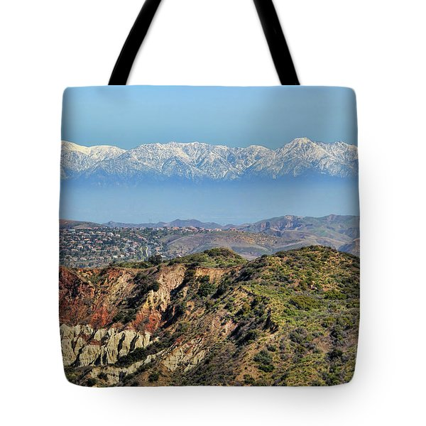 Floating in the Sky Tote Bag by Mariola Bitner