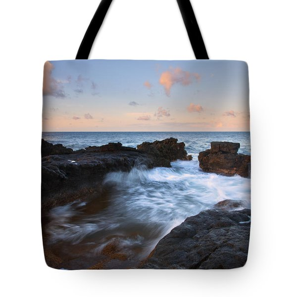 Flooding The Cracks Tote Bag by Mike  Dawson