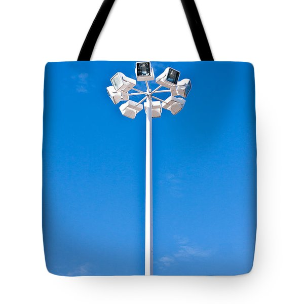 Floodlight Tote Bag by Tom Gowanlock