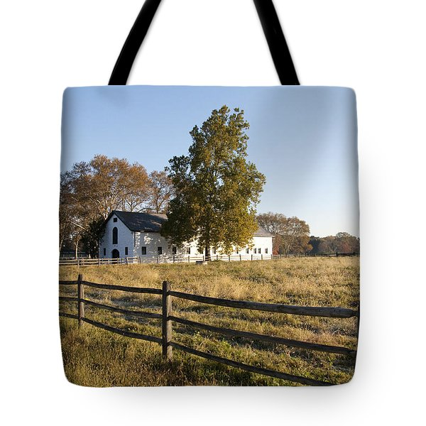 Flourtown Morning Tote Bag by Bill Cannon