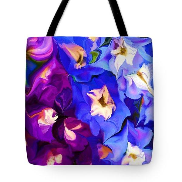 Flower Arrangement 012812 Tote Bag by David Lane