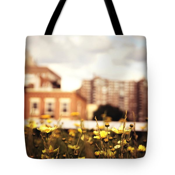 Flowers - High Line Park - New York City Tote Bag by Vivienne Gucwa