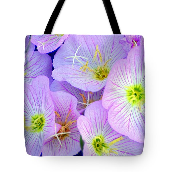 Flowers Flowers Tote Bag by Marty Koch