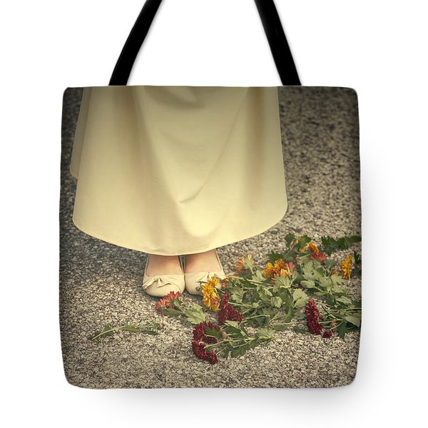 Flowers On The Street Tote Bag by Joana Kruse